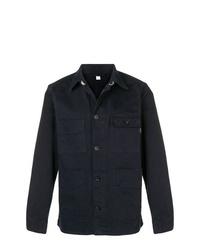 Chaqueta estilo camisa vaquera azul marino de PS Paul Smith