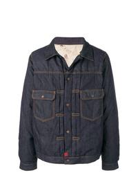 Chaqueta estilo camisa vaquera azul marino de VISVIM