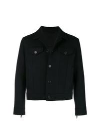 Chaqueta estilo camisa vaquera negra de Neil Barrett