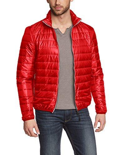 Con que combinar una chaqueta roja hombre