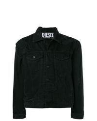Chaqueta vaquera negra de Diesel