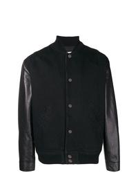 Chaqueta varsity negra de Givenchy