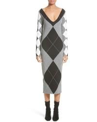 Stella McCartney Argyle Sweater Dress
