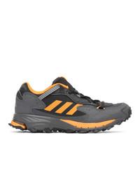 adidas Originals Black And Orange Response Hoverturf Gf6100a Sneakers