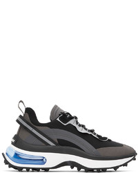 DSQUARED2 Black Bubble Sneakers