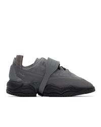 Oamc Grey Adidas Originals Edition Type O 1 Sneakers