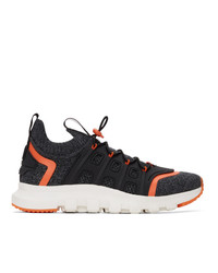 Z Zegna Grey Techmerino Sock 20 Sneakers