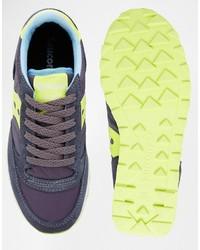 a7a62580502f ... Saucony Jazz Original Charcoallight Green Sneakers