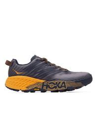 Hoka One One Multicolor Speedgoat 4 Sneakers