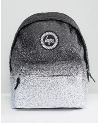 Hype Monochrome Speckle Fade Backpack