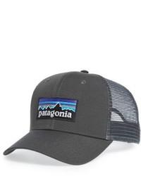 Patagonia P 6 Logo Trucker Hat Green