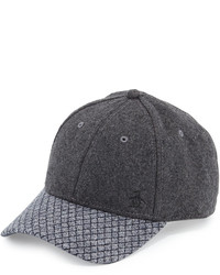 Original Penguin Penguin Felt Baseball Hat Charcoal Heather