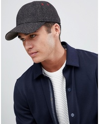 Ted Baker St Baseball Cap In Herringbone