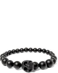 Charcoal Beaded Bracelet