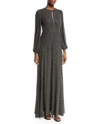 Michael Kors Michl Kors Bell Sleeve Beaded Gown
