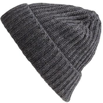 5ecb79b2e7ed4 Andrew Stewart Rib Knit Wool Cashmere Beanie