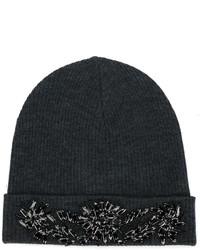 P.A.R.O.S.H. Beaded Beanie Hat