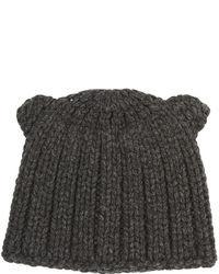 BCBGMAXAZRIA Chunky Ribbed Knit Beanie