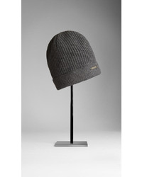 Burberry Fisherman Rib Wool Cashmere Beanie