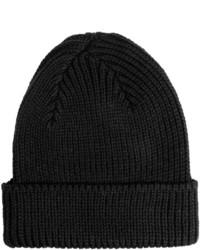 Jg Glover Co Peregrine By Jg Glover Rib Knit Beanie Hat Merino Wool
