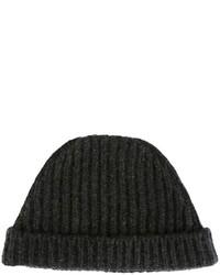 Knitted beanie hat medium 616487