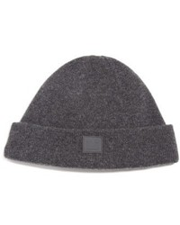 Knut face patch wool beanie black medium 4949207