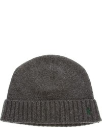 Ralph Lauren Blue Ribbed Beanie