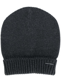 Dolce & Gabbana Ribbed Turn Up Hem Beanie