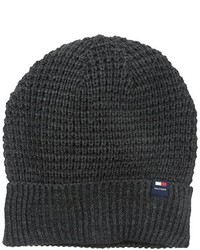 Tommy Hilfiger Ribbed Knit Beanie Hat