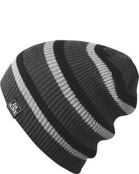 Dakine Zeke Stripe Beanie Kids Charcoal Stripe One Size