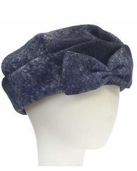 Giovannio Fabric Beret With Bow