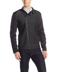 Calvin Klein Double Knit Moto Jacket
