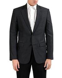 Maison Martin Margiela 100% Wool Charcoal Blazer Sport Coat Us 38 It 48