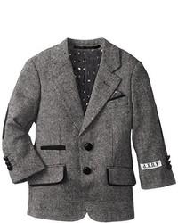 Axny Little Boys Little Wool Blend Tweed Blazer