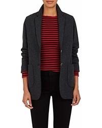 Barneys Xo Colombo Cashmere Silk Two Button Blazer