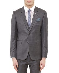 Ted Baker Debonair Sharkskin Regular Fit Sport Coat