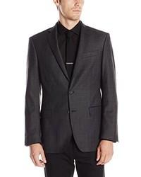 DKNY Druce Check Slim Fit Blazer