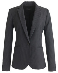 J.Crew Tall Campbell Blazer In Pinstripe Super 120s Wool