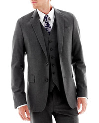 JF J.Ferrar Jf J Ferrar Stretch Gabardine Suit Jacket Super Slim