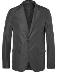Jil Sander Grey Slim Fit Unstructured Shell Blazer