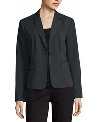 Liz Claiborne Long Sleeve Suiting Blazer Petite