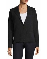 Eileen Fisher Notched Collar Wool Blazer