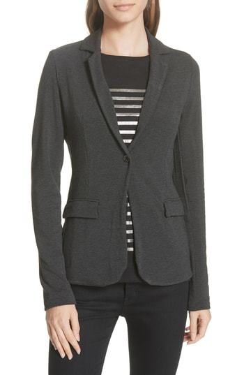 Majestic Filatures One Button Stretch Blazer
