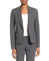 Anne Klein One Button Suit Jacket