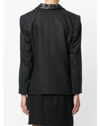 Yves Saint Laurent Vintage Peaked Lapels Blazer