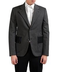 Maison Martin Margiela Wool Slim Gray Blazer Sport Coat Us 38 It 48