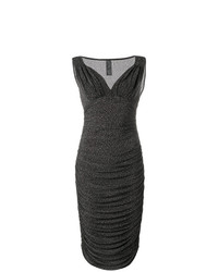 Norma Kamali Tara V Neck Dress