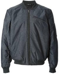 Charcoal Bomber Jacket