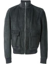 Alexander McQueen Zip Bomber Reversible Jacket