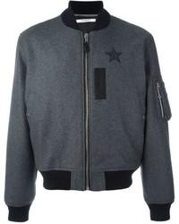 Givenchy Star Print Bomber Jacket